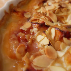 Nectarines Baked in Cream