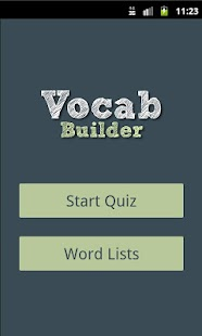 Vocab Builder - screenshot