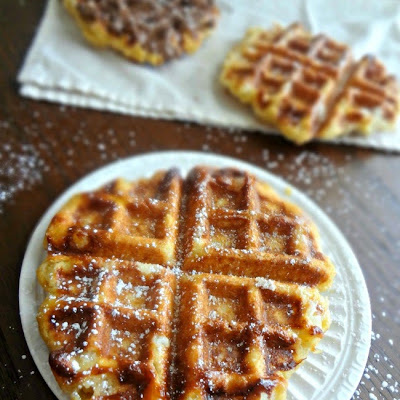 Browned Butter Belgian Liege Wafels