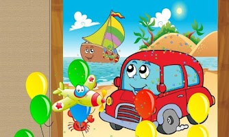 Screenshot of Car Truck Puzzles for Toddlers
