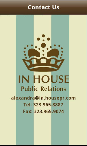In House Public Relations