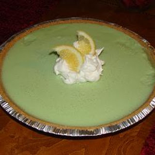 No Bake Lemon-Lime Chiffon Pie