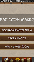 Screenshot of P&D Icon Maker