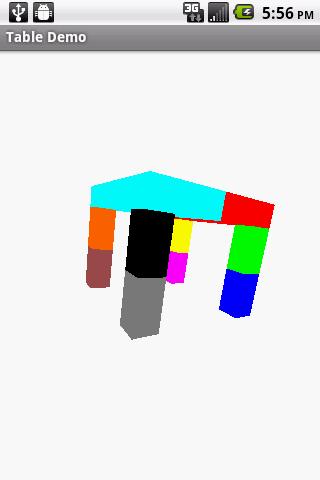【免費程式庫與試用程式App】Table Demo-APP點子