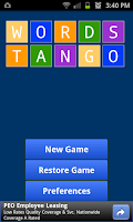 Screenshot of Words Tango