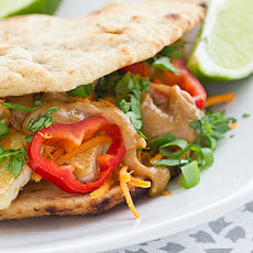 Crispy Tofu Sandwiches with Ginger Peanut Sauce