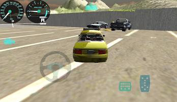 Screenshot of Car Driving Cab Parking 3D