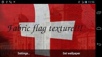 Screenshot of 3D Swiss Flag Live Wallpaper