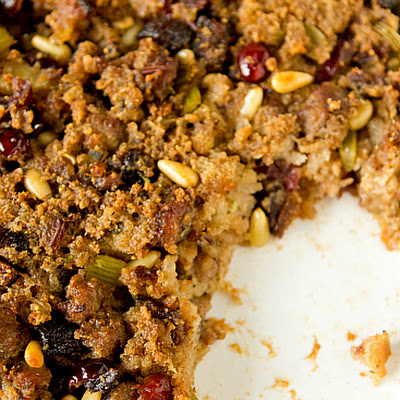 Sausage, Fig & Cranberry Stuffing