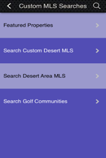 Palm Springs Real Estate - screenshot