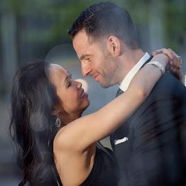 by Melissa Papaj - Wedding Bride & Groom ( love, wedding, bride, groom, romance )