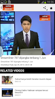Screenshot of AstroAWANI