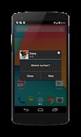 Screenshot of Popup Notifier Free