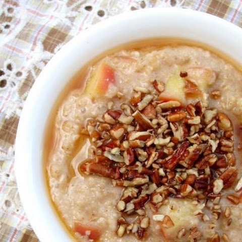 Salted Maple, Apple, & Pecan Oatmeal