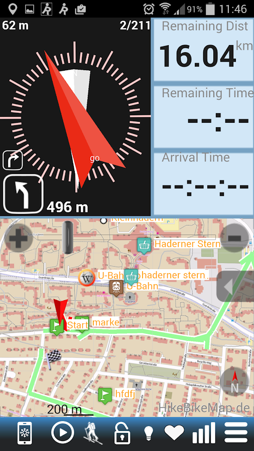 RunGPS Trainer Pro Full Screenshot 1