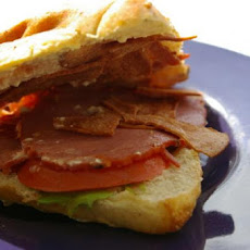 Light Toasty Turkey Club Sandwich