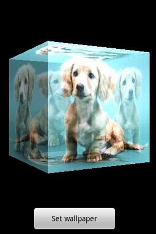 3Dかわいい犬A20