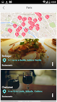 Screenshot of Paris City Guide