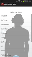 Screenshot of Beat Slayer Red