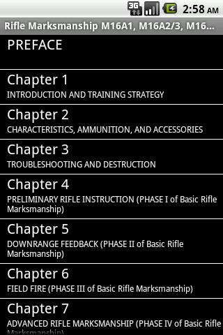 Army Rifle Marksmanship