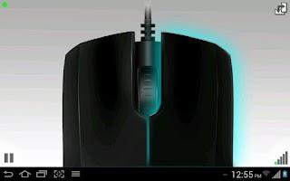 Screenshot of Accelerometer Mouse