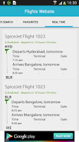 Screenshot of Flight Search