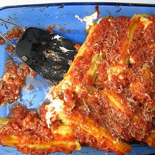 Vegetarian Manicotti Recipes