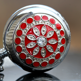 by Dipali S - Artistic Objects Other Objects ( red, pattern, watch, artistic, jewelry )