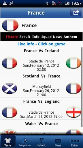 Six Nations LIVE – France