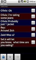 Screenshot of SMS Safe