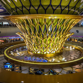 Abu Dhabi Airport by Stuart Lilley - Buildings & Architecture Architectural Detail ( airport, building, airports, buildings, abu dhabi, architecture,  )