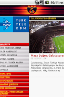 Screenshot of Galatasaray Browser - Tarayıcı