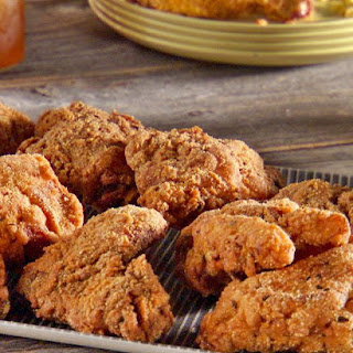 Brined and Fried Chicken