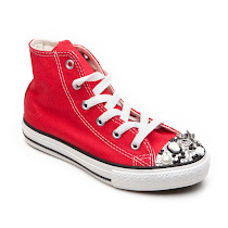 CM Couture Metal Embellished Converse TRAINER