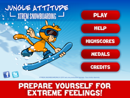 Screenshot of Xtrem Snowboarding
