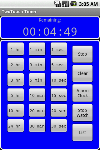 TwoTouch Timer Full