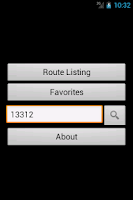 Screenshot of MyNexTrip