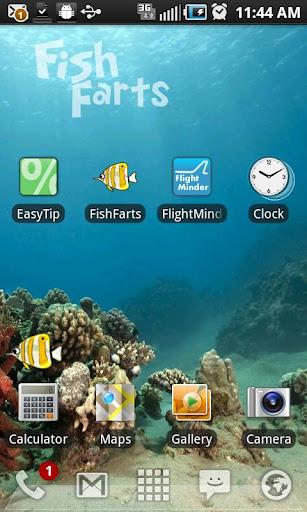FishFarts Live Wallpaper