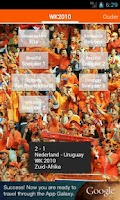 Screenshot of WK Voetbal Oranje Soundboard