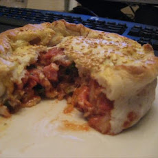 Individual Cheesy Pizza Pot Pie / Pies