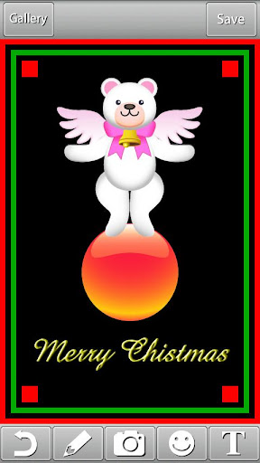 クリスマスカードをつくろう