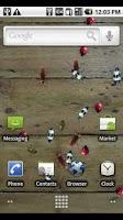 Screenshot of Bugz Live Wallpaper