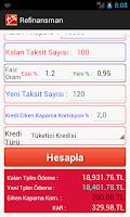 Screenshot of Kredi Taksit Hesapla