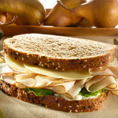 Turkey Sandwich On Whole Grain Bread