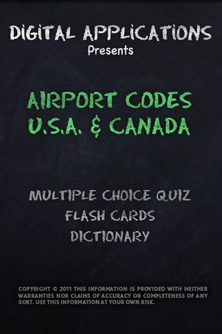 AIRPORT CODES - USA CANADA
