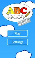 Screenshot of ABC Touch Lite, let's write!
