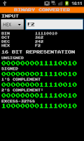 Screenshot of Binary Converter