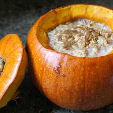 Whole Baked Pumpkin Oatmeal