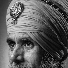 B/W by Deepu Baldev - People Portraits of Men