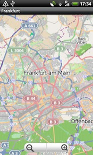 Frankfurt Street Map - screenshot
